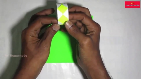 Thumbnail for entry Origami Bracelet Instructions