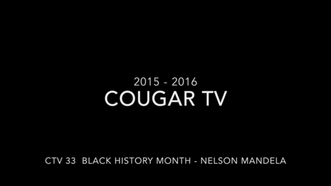 Thumbnail for entry Capital High School 2015 - 2016 Cougar TV Show 33