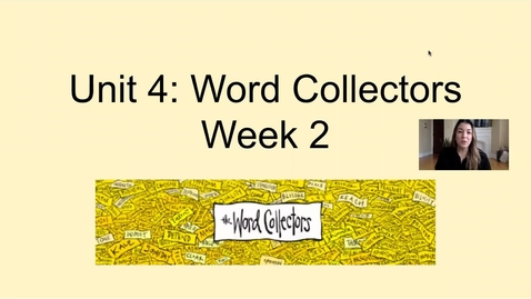 Thumbnail for entry Week 2 (April 16) Phonics Lesson