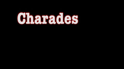 Thumbnail for entry Movie Charades