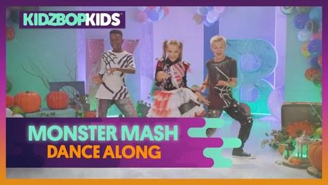 Thumbnail for entry KIDZ BOP Kids - Monster Mash (Dance Along) [KIDZ BOP Halloween]