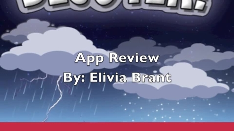 Thumbnail for entry App Review Elivia Brant