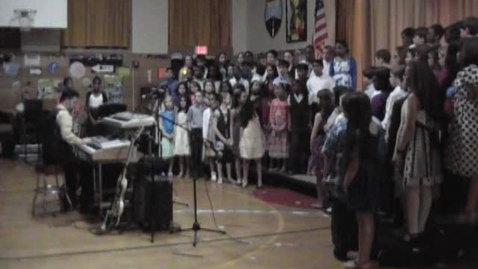 Thumbnail for entry Plaza School Baldwin, N.Y. - Spring Concert 2012 - Select Chorus - Georgia (ft. The Aristons)