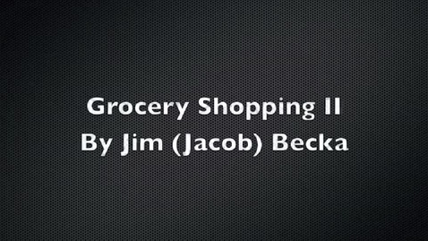 Thumbnail for entry How to shop for food & groceries in Hebrew - Lesson 2