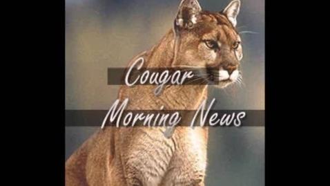 Thumbnail for entry Cougar Morning News September 19, 2008