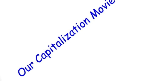 Thumbnail for entry Capitalization part 1