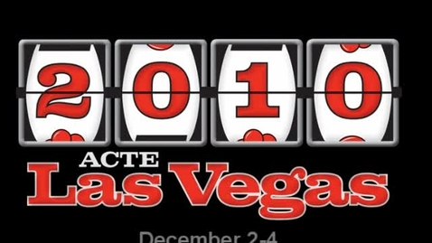 Thumbnail for entry 2010 ACTE Convention--The Place to Be for CTE Professionals