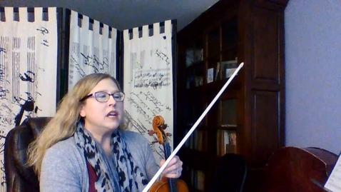 Thumbnail for entry 8th GR Violin Str Basics Pg 10-11 Week 6