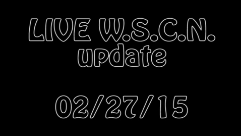 Thumbnail for entry WSCN Live 02.27.15