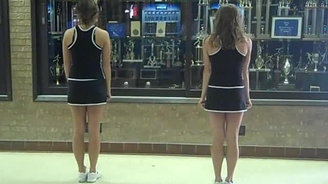 Thumbnail for entry EHS Tryout Dance Back View