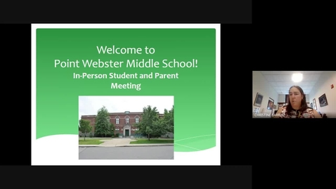 Thumbnail for entry Point Webster High Needs Transition Meeting (2020-09-15)
