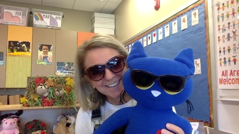 Thumbnail for entry Story Time: Pete The Cat and His Magic Sunglasses