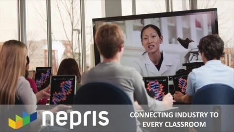 Thumbnail for entry Students! Nepris helps you explore careers