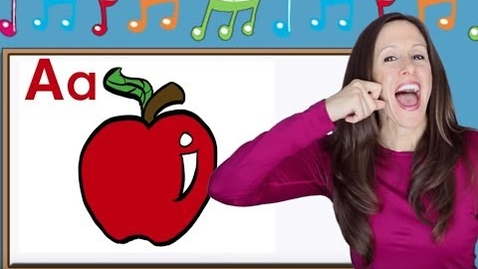 Thumbnail for entry Phonics Song for Children | Alphabet Song | Letter Sounds | Signing for babies | ASL | Patty Shukla