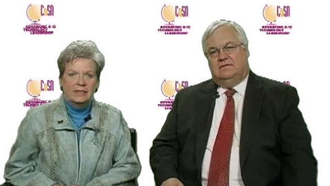 Thumbnail for entry Joan and Johnny: CoSN Initiative Directors
