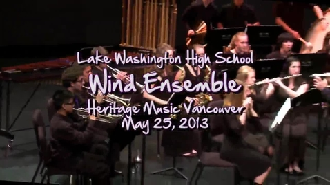 "Thumbnail for entry LW Wind Ensemble: Block ""M"" Concert March"