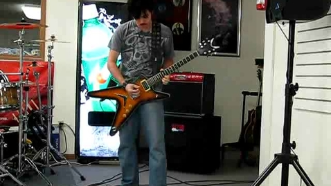 Thumbnail for entry Casey Guitar Playing 1