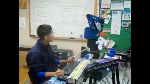 Thumbnail for entry Robotic Arm Stacking Activity AY