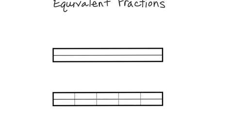 Thumbnail for entry Equivalent Fractions: Halves-Tenths-Twentieth's.mp4