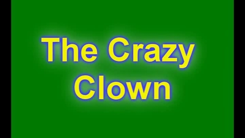 Thumbnail for entry Crazy Clown