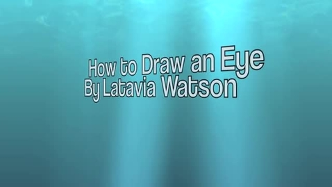 Thumbnail for entry How To Draw an Eye