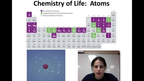 Thumbnail for entry Chemistry (Unit 1-Video 3)