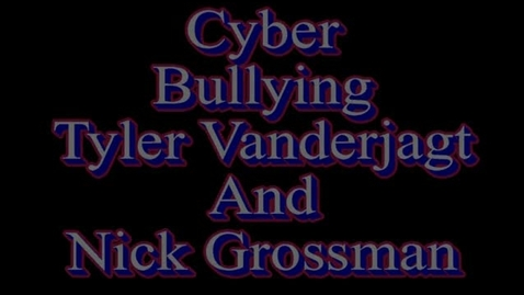 Thumbnail for entry Bullying Clyde Snyder