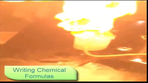 Thumbnail for entry Writing chemical formulas from chemical names