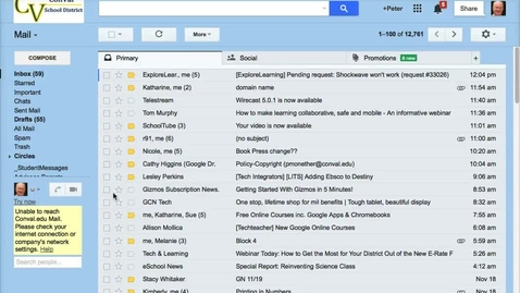 Thumbnail for entry Filtering Gmail Messages