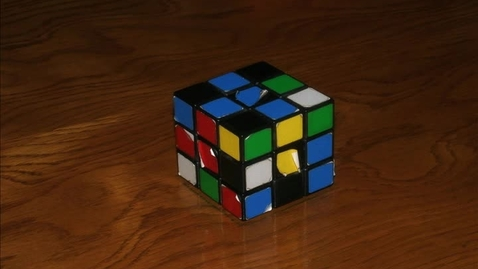 Thumbnail for entry Rubik's Stop Motion