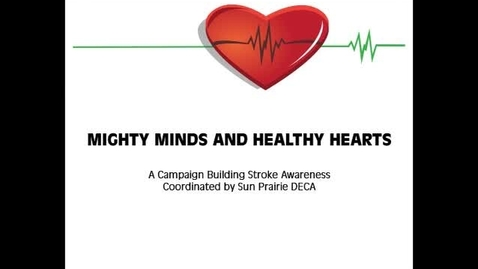 Thumbnail for entry SPHS DECA Stroke Campaign