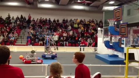 Thumbnail for entry JMAC Robotics Basketball Shot