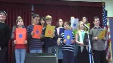 Thumbnail for entry Abrams 2008 Hanukkah Concert - Grade 5, Part 1