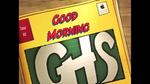 Thumbnail for entry Gulf High Morning News: 12/4/12