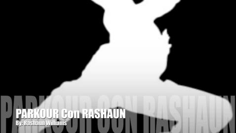 Thumbnail for entry Parkour Con Rashaun