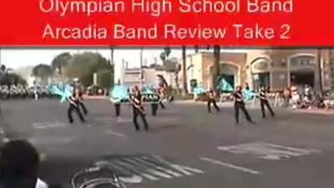 Thumbnail for entry OHS Band at Arcadia, Take 2