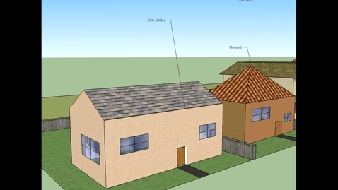 Thumbnail for entry White, Yvonne: Roof Styles Project