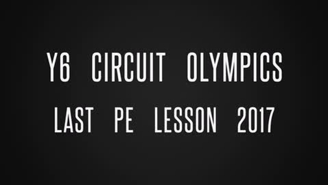 Thumbnail for entry Nicol Mere Year 6 - Curcuit Olympics 2017