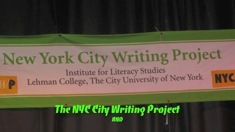 Thumbnail for entry Poets at The Nuyorican Poets Cafe, NYC  2012