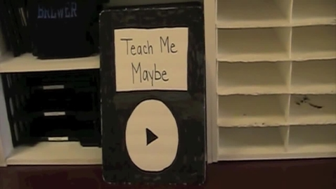 Thumbnail for entry Teach Me Maybe