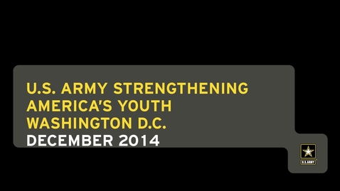 Thumbnail for entry 2014 Strengthening America's Youth (SAY) Leadership Committee Meeting
