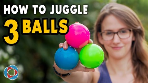 Thumbnail for entry Learn to JUGGLE 3 BALLS - Beginner Tutorial