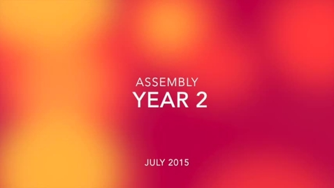 Thumbnail for entry Year 2 Assembly 2015