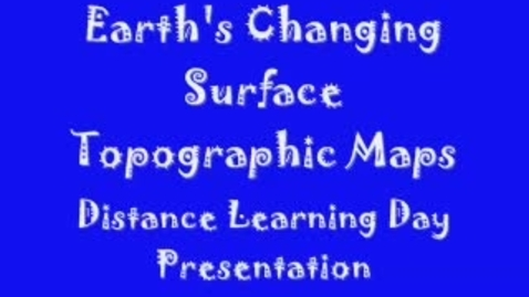 Thumbnail for entry Topographic Maps Video.wmv