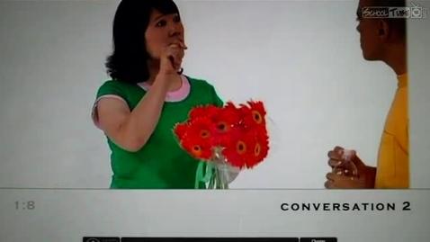 Thumbnail for entry Unit 1 Conversation 2