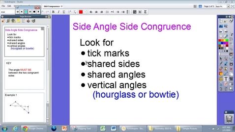 Thumbnail for entry G.6 SAS Congruence Module 2