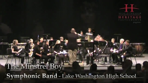 Thumbnail for entry LWHS Symphonic Band: The Minstrel Boy