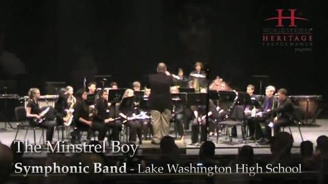 Thumbnail for entry LWHS Symphonic Band: The Minstrel Boy