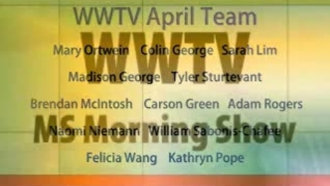 Thumbnail for entry WWTV April 1, 2015 Wednesday