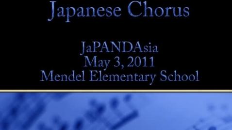 Thumbnail for entry Japanese Chorus